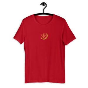 Lemonade Stand Logo Outline Red Shirt