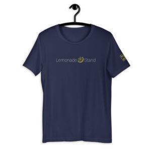 Lemonade Stand Logo Navy Shirt