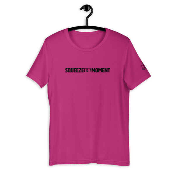 Squeeze The Moment Berry Short Sleeve Shirt