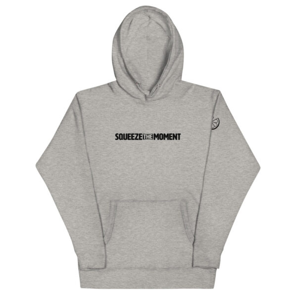 Squeeze The Moment Carbon Gray Hoodie