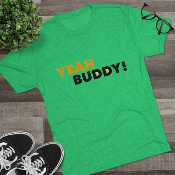 Men's Yeah Buddy Green Shirt