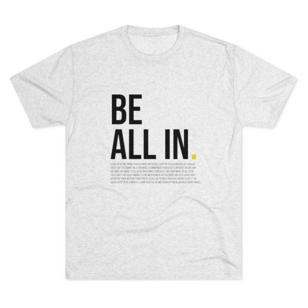 Men's Be All In White Shirt