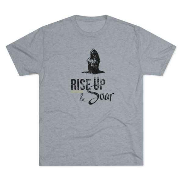 Men's Rise Up and Soar Gray Shirt