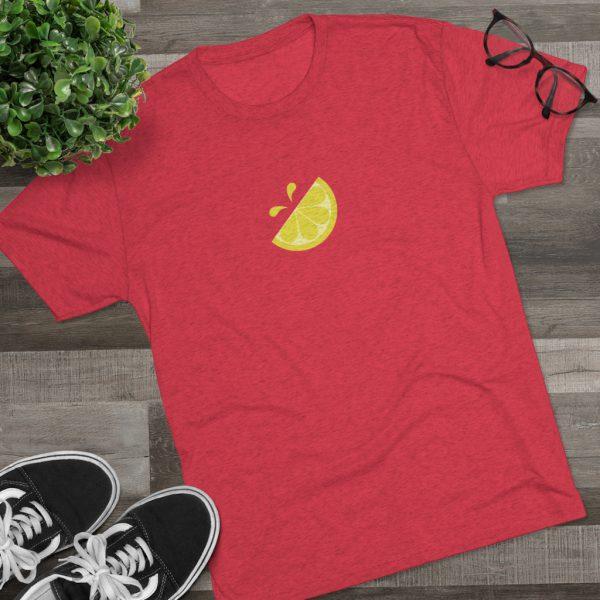 Men's Lemonade Stand Icon Red Shirt