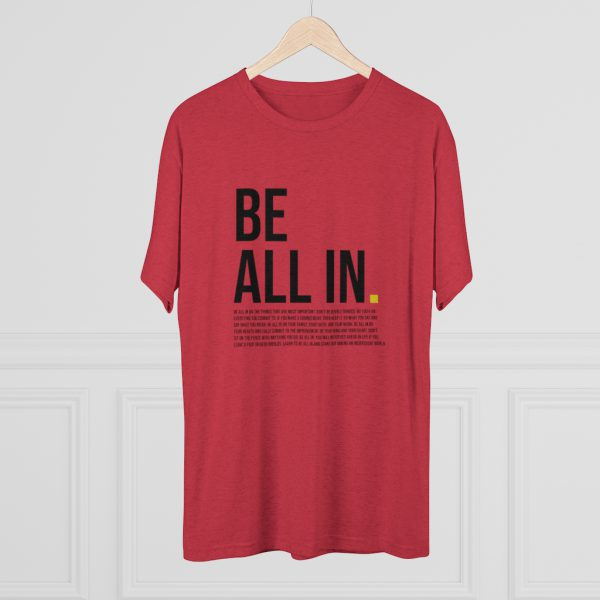Men's Be All In Red Shirt