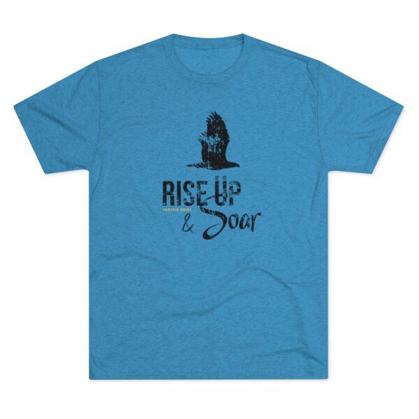 Men's Rise Up and Soar Blue Shirt